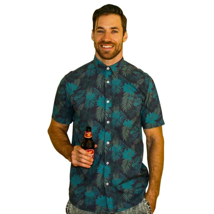 Cartagena Party Shirt - Front Button Up