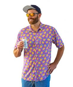 Purple Haze Pool Party Shirt- Front