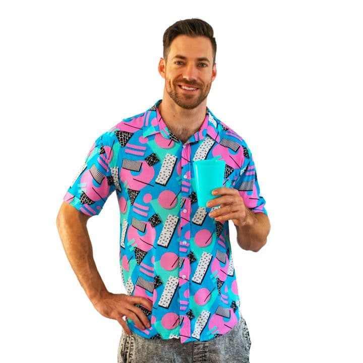 Shapeshifter Party and Pool shirts- Front