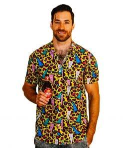 Deft Leopard Party Shirt - Front