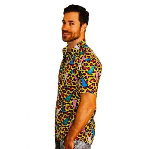 Deft Leopard Party Shirt - Left