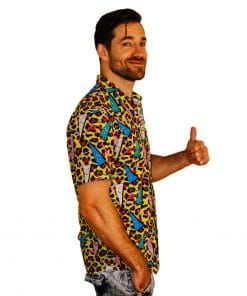 Deft Leopard Party Shirt - Right