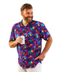 Miami Nice Pool and Party Shirts- Front